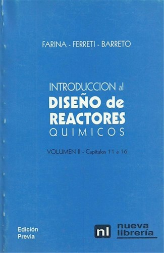 Libro 1. Introduccion Al Diseño De Reactores Quimicos