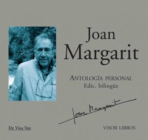 Libro Antologia Personbal De Margarit Joan .Ed Bilingue (Con Cd)