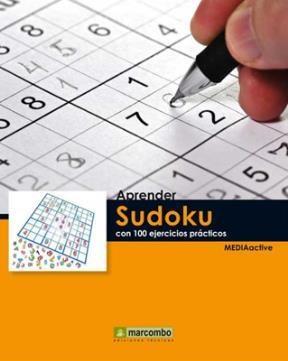 Libro Aprender Sudoku Con 100 Ejercicios Practicos