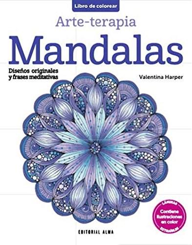 Libro Armonia De Color : Mandalas