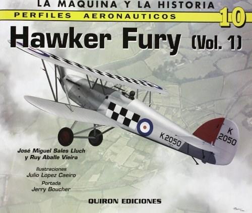 Libro Avion Hawker Fury: V. 1