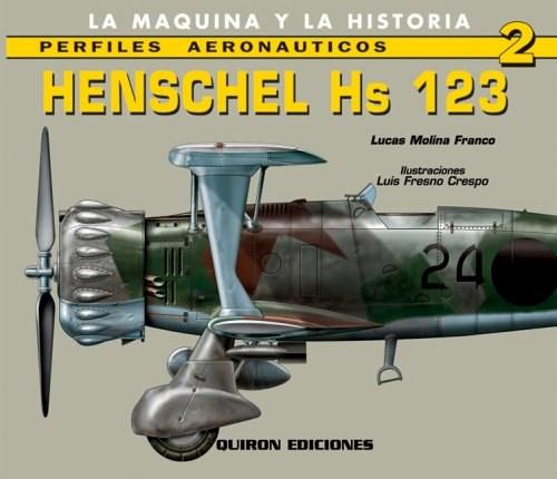 Libro Avion Henschel Hs 123