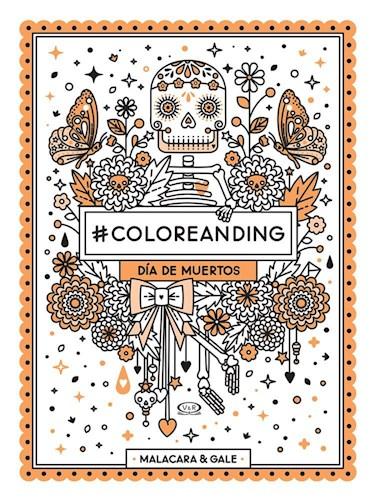 Libro Coloreanding Dia De Los Muertos