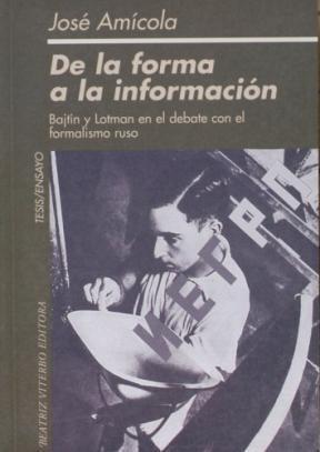 Libro De La Forma A La Informacion