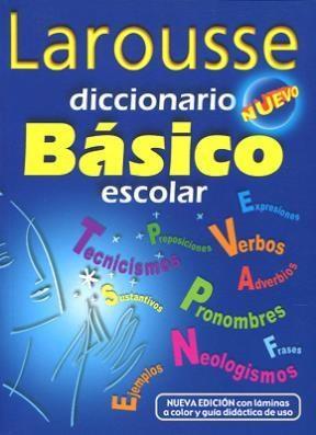 Libro Diccionario Basico Escolar Nuevo