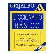 Libro Diccionario Basico  Nueva Edicion