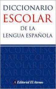 Libro Diccionario Escolar De La Lengua Española