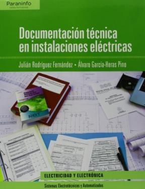 Libro Documentacion Tecnica En Instalaciones Electricas