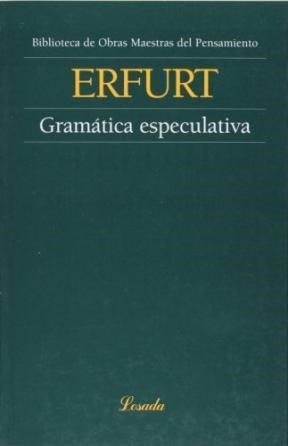 Libro Gramatica Especulativa