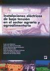 Libro Instalaciones Electricas De Baja Tension En El Sector Agrario Y Agroaliment