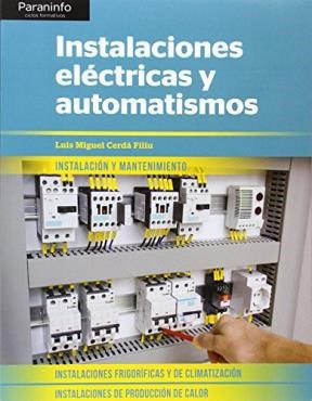 Libro Instalaciones Electricas Y Automatismos
