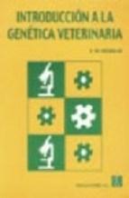 Libro Introduccion A La Genetica Veterinaria