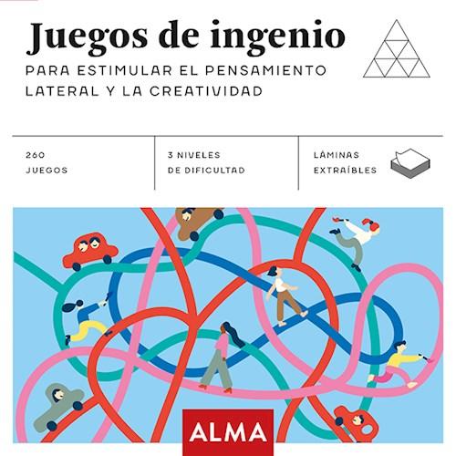 Libro Juegos De Ingenio : Para Estimular El Pensamiento Lateral Y La Creatividad