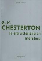 Libro La Era Victoriana En Literatura