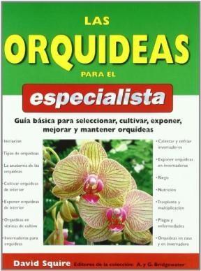 Libro Las Orquideas Para El Especialista