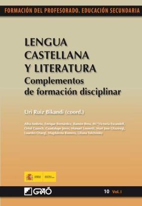 Libro Lengua Castellana Y Literatura.Complementos De For