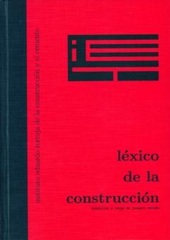 Libro Lexico De La Construccion