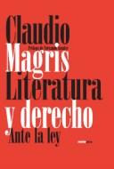 Libro Literatura Y Derecho