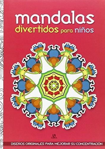 Libro Mandalas Divertidos Para Ni/Os