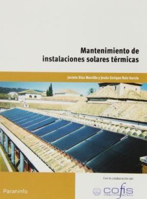 Libro Mantenimiento De Instalaciones Solares Termicas