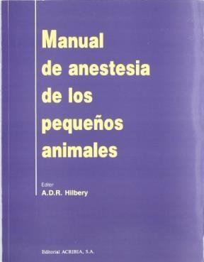 Libro Manual Anestesia Pequeño Animales