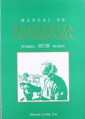 Libro Manual De Anestesia Veterinaria