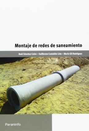 Libro Montaje De Redes De Saneamiento