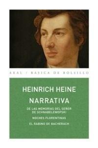 Libro Narrativa : El Rabino De Bacherach  Noches Florentinas