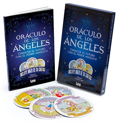 Libro Oraculo De Los Angeles (Contiene Mazo De Cartas En Caja)