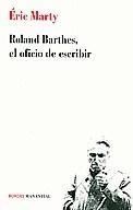 Libro Roland Barthes  El Oficio De Escribir