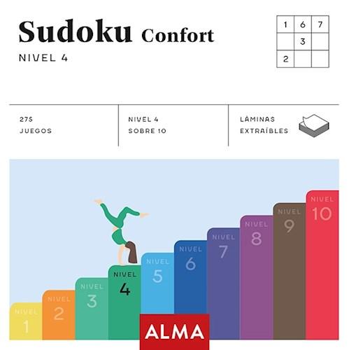 Libro Sudoku Confort : Nivel 4