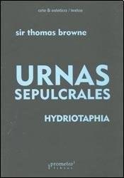 Libro Urnas Sepulcrales / Hydriotaphia