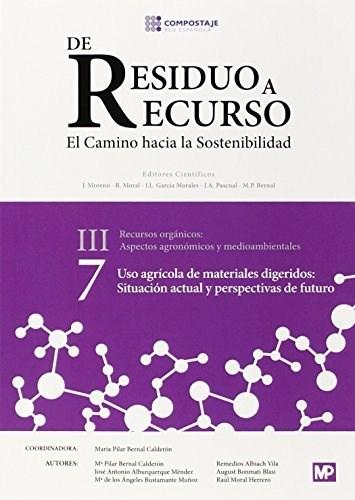 Libro Uso Agricola De Materiales Digeridos Situacion Actual Perspec Futuro Iii.7