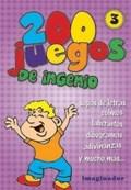 Libro 3. 200 Juegos De Ingenio