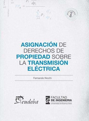 Libro Asignacion De Derechos De Propiedad Sobre La Transmision Electrica