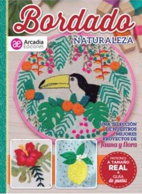 Libro Bordado Naturaleza