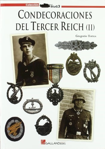 Libro Condecoraciones Del 3Er Reich Vol 2