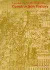 Libro Construction History 3 Vol.