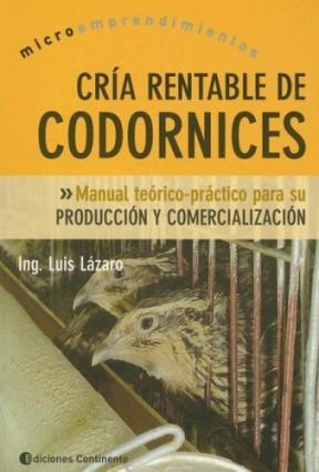 Libro Cria Rentable De Codornices