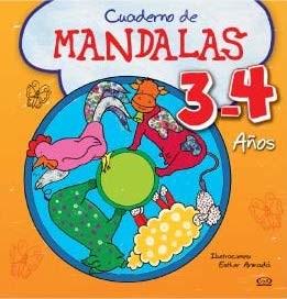 Libro Cuaderno De Mandalas 3 - 4 Años