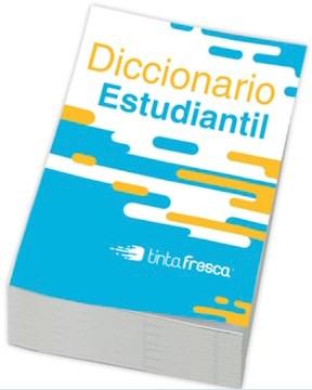 Libro Diccionario Estudiantil Tinta Fresca