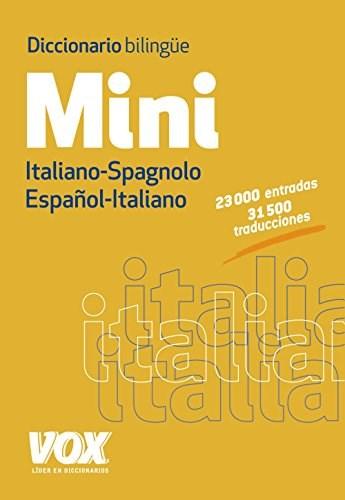Libro Diccionario Mini Español-Italiano / Italiano-Spagnolo