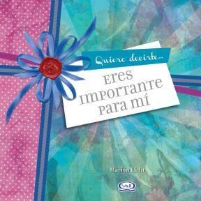 Libro Eres Importante Para Mi