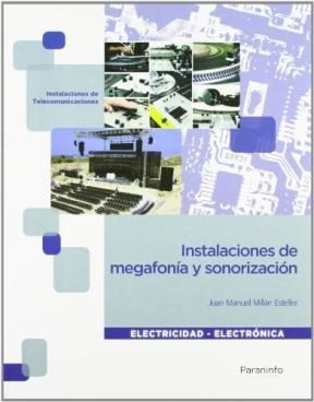 Libro Instalaciones De Megafonia Y Sonorizacion