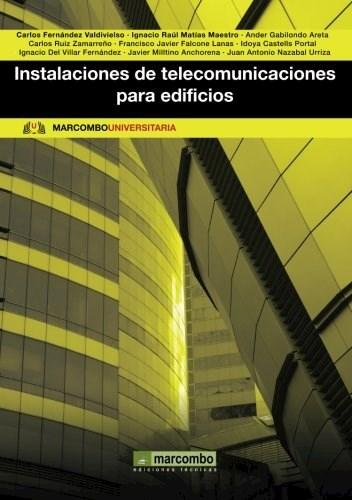 Libro Instalaciones De Telecomunicaciones Para Edificios