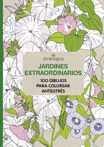 Libro Jardines Extraordinarios  Arterapia