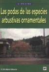 Libro Las Podas De Las Especies Arbustivas Ornamentales