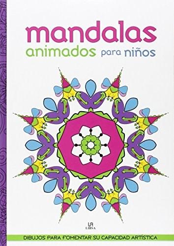 Libro Mandalas Animados Para Ni/Os