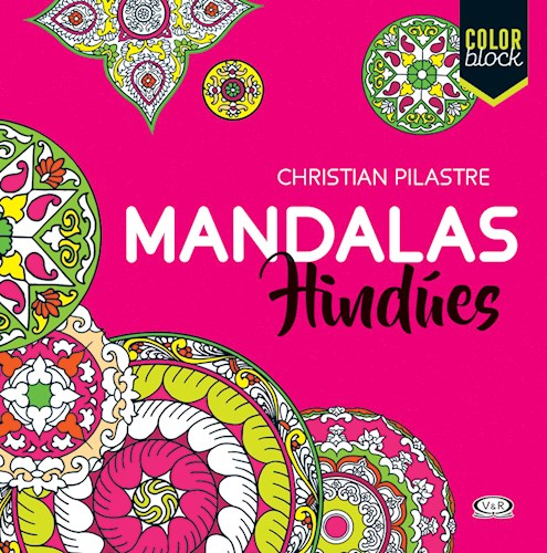 Libro Mandalas Hindues  Color Block