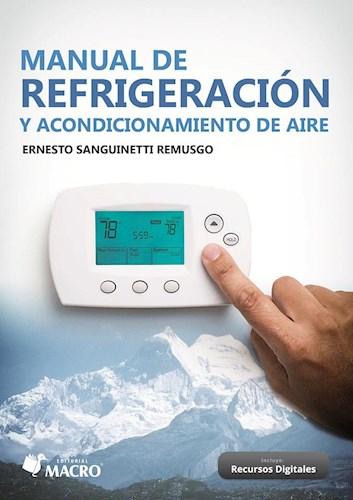 Libro Manual De Refrigeracion Y Acondicionamiento De Aire